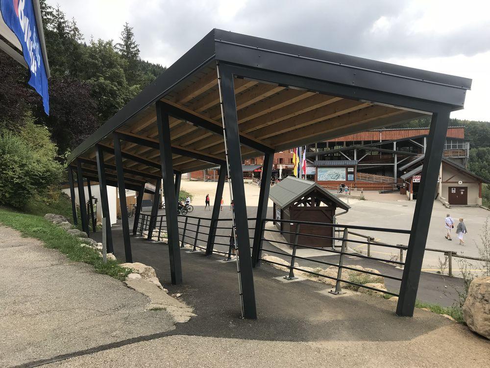 Passage couvert à Villard-de-Lans