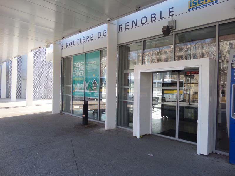 Nouvelle entrée Gare Routière de Grenoble