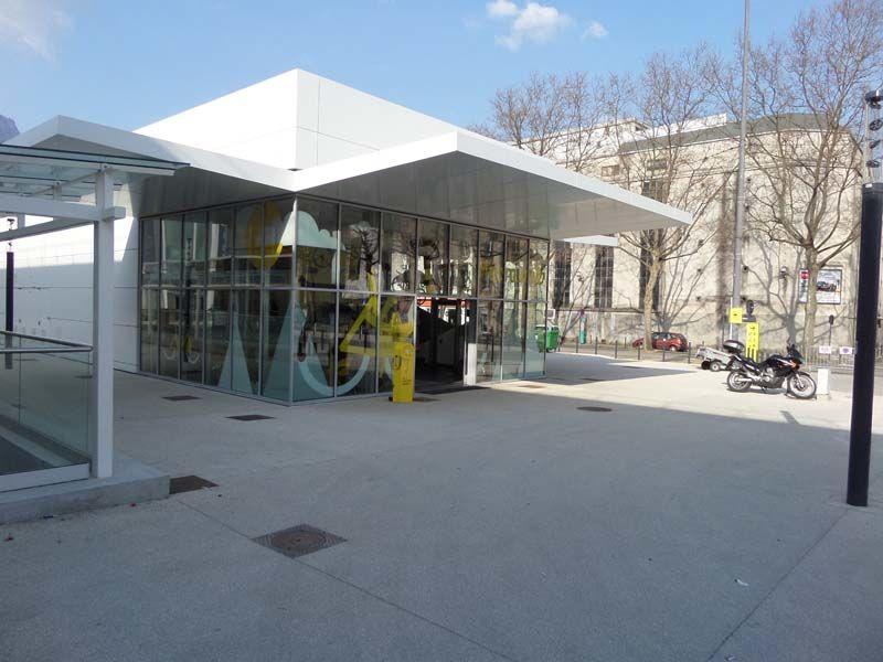 Maison du vélo gare de Grenoble