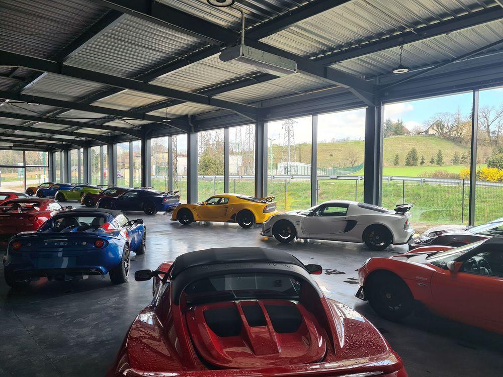 Extension du garage automobile LOTUS